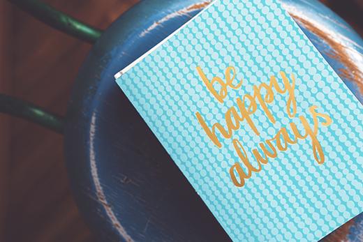 carnet bonheur