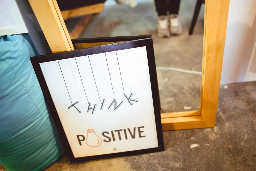 tableau penséee positive